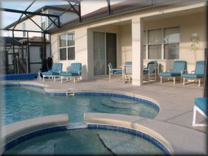 Private Orlando vacation home for rent with heated pool